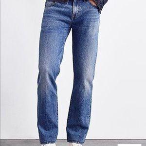 Mens Lucky Brand Jeans 221 Original Straight 38 32